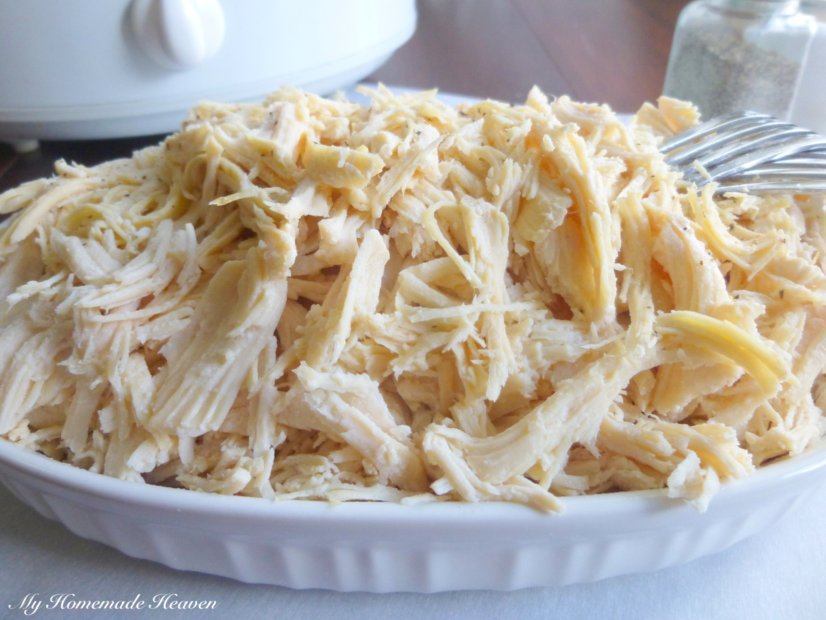 Crock-pot Shredded Chicken