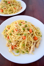 Olive Oil Chicken Pasta