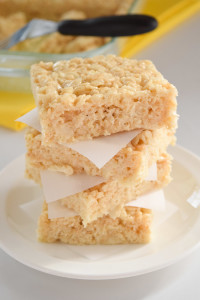 Soft and Gooey Rice Krispie Treats