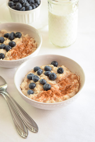 Soaked Maple Cinnamon Oatmeal