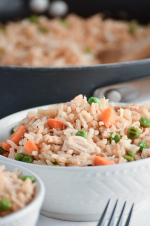 Quick & Easy Chicken Fried Rice