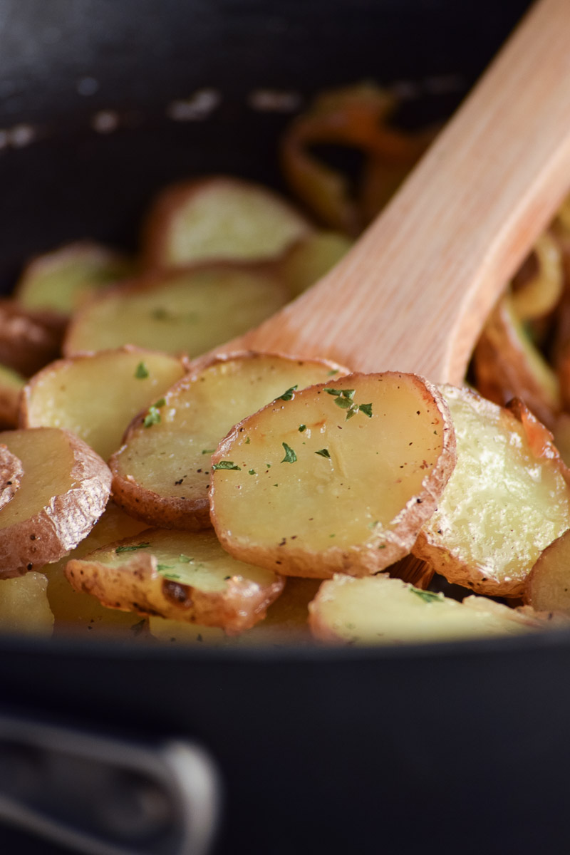 Easy Pan Fried Potatoes