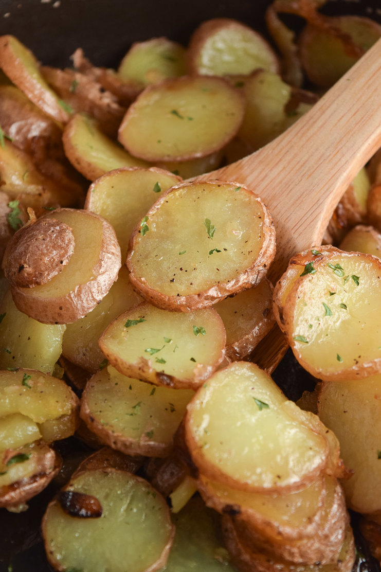Easy Pan Fried Potatoes My Homemade Heaven