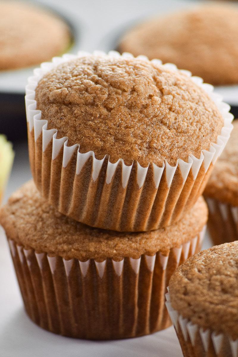 Healthy Applesauce Muffins